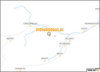 map of Pîrîu Asodului