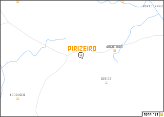 map of Pirizeiro