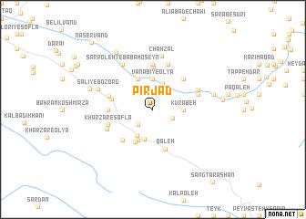 map of Pīr Jad