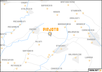map of Pîrjota