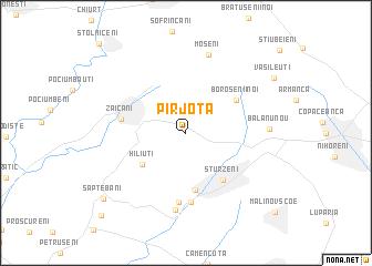 map of Pîrjota