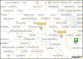 map of Pirka