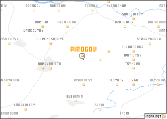 map of Pirogov