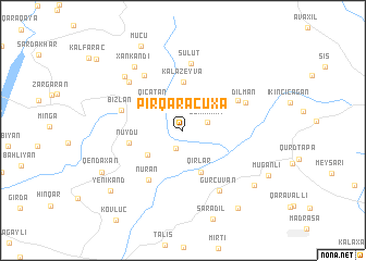 map of Pirqaraçuxa