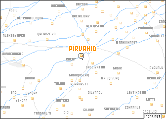 map of Pirvahid