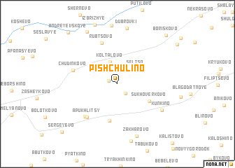 map of Pishchulino