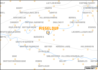 map of Pisseloup
