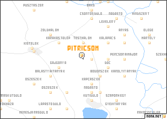 map of Pitricsom