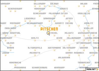 map of Pitschen