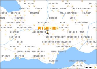 map of Pitsinaíika