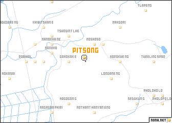 map of Pitsong