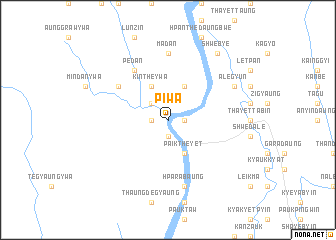 map of Piwa