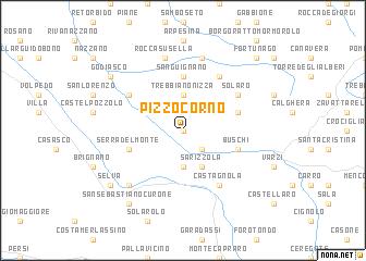 map of Pizzocorno