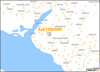 map of Pjetroshan