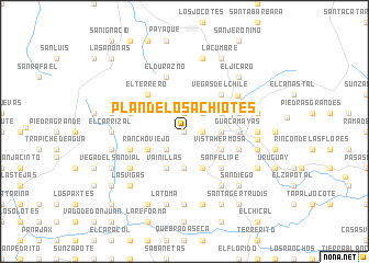 map of Plan de Los Achiotes