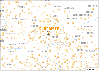 map of Plandište