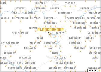 map of Plank am Kamp