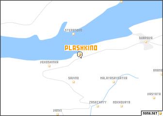 map of Plashkino