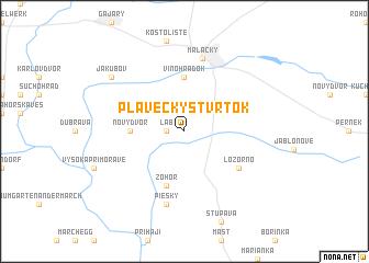 map of Plavecký Štvrtok