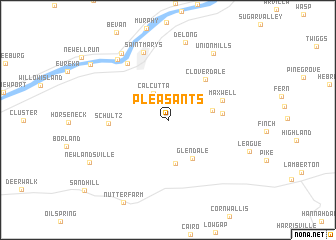 map of Pleasants