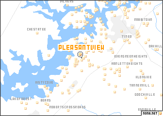 map of Pleasant View