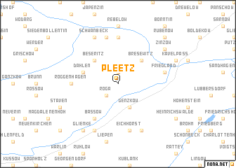 map of Pleetz