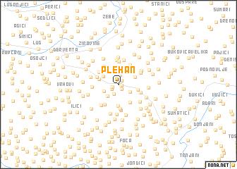 map of Plehan