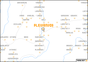 map of Plei Van Vo (1)