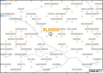 map of Plennin