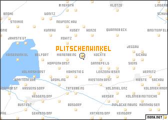 map of Plitschenwinkel