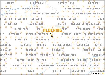 map of Plöcking