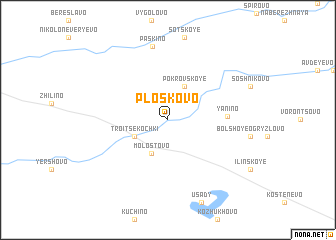 map of Ploskovo