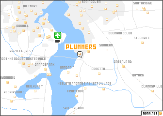 map of Plummers