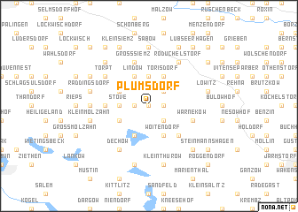 map of Plumsdorf