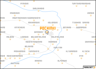 map of Pochinki