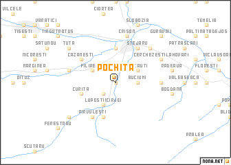 map of Pochiţa