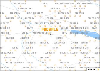 map of Podbale