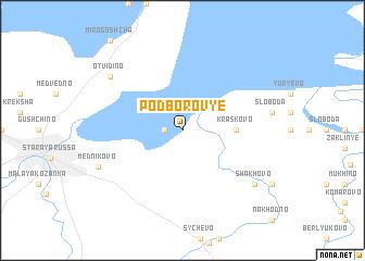 map of Podborov\