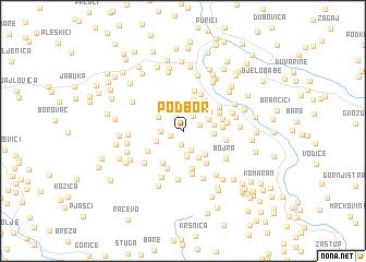 map of Podbor