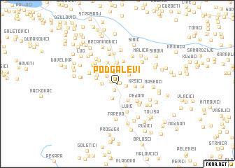 map of Podgalevi