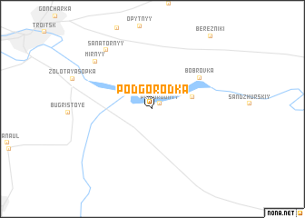 map of Podgorodka