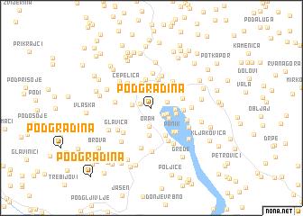 map of (( Podgradina ))