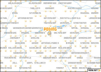 map of Pöding