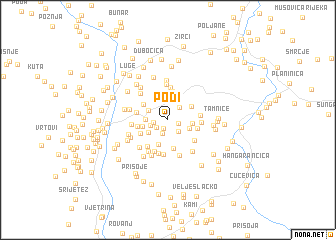 map of Podi