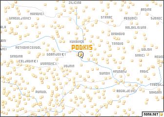 map of Podkiš