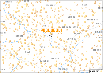 map of Podlugovi