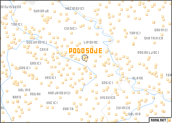 map of Podosoje