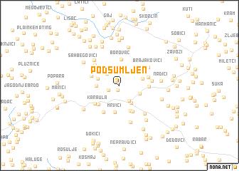 map of Podsumljen