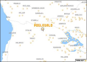 map of Pogledalo