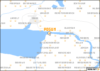 map of Pogum